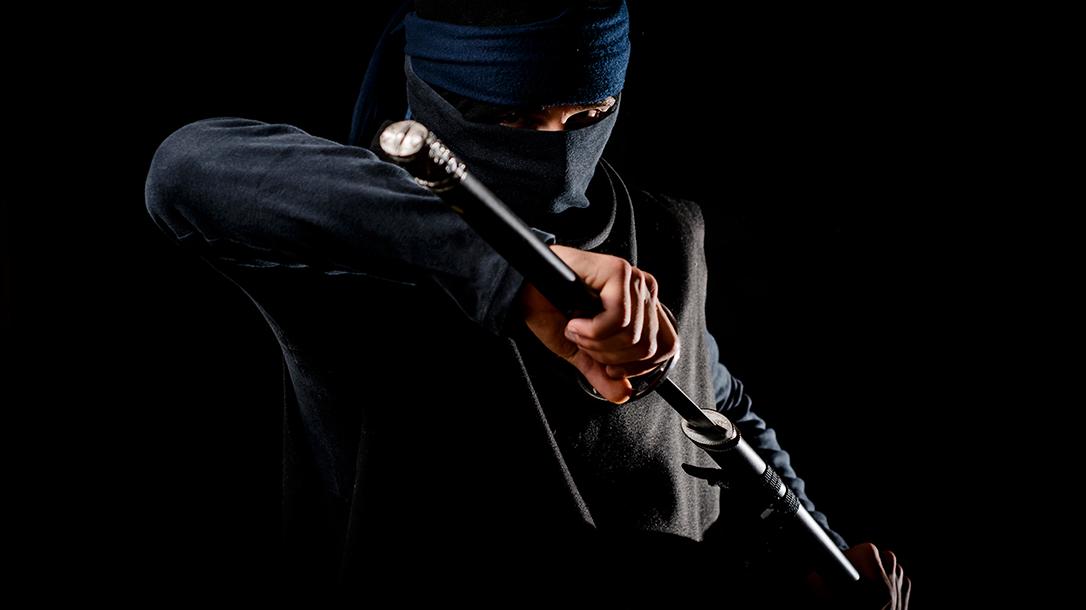 The Japanese ninja is a silent assassin.