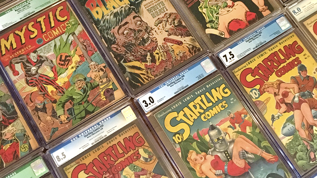 Golden Age of Comic Books, comic book collection, comic book collecting
