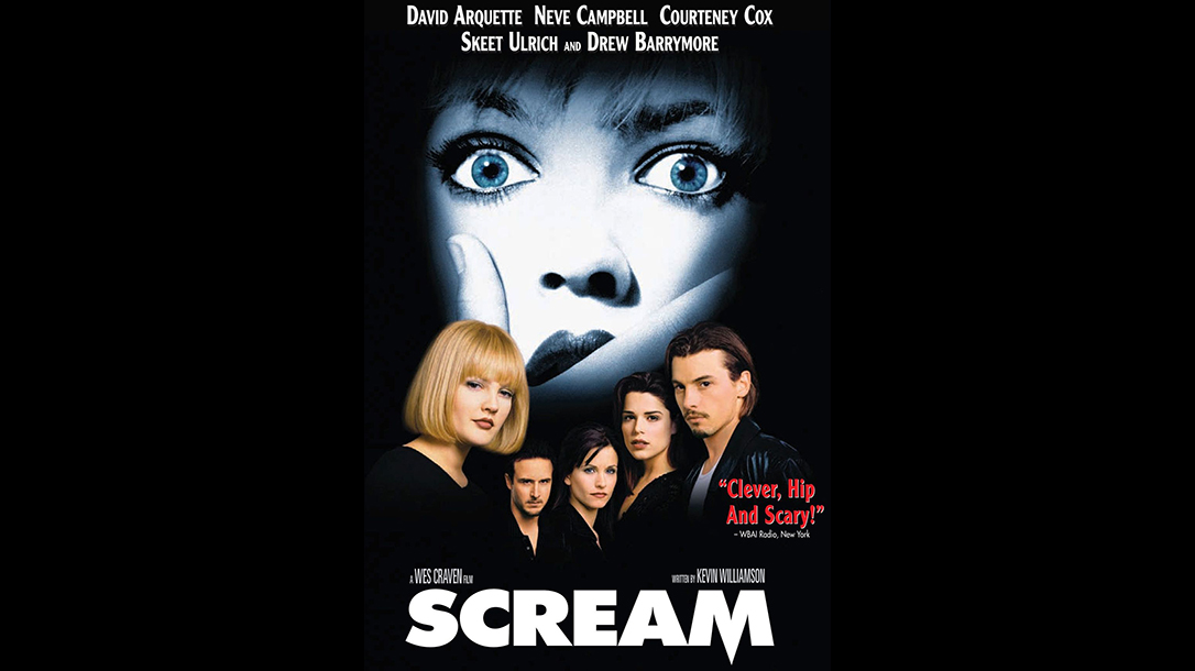Scream, Neve Campbell, movie poster