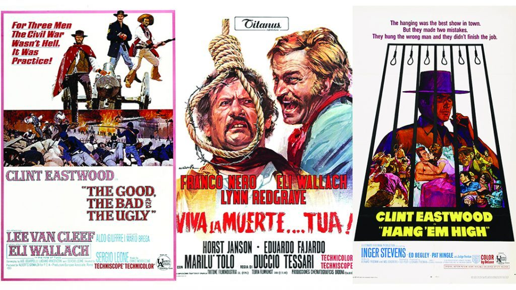 Spaghetti Western Guide, movie posters