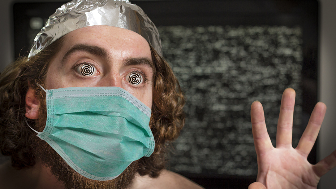Coronavirus Conspiracy Tin Foil Hat