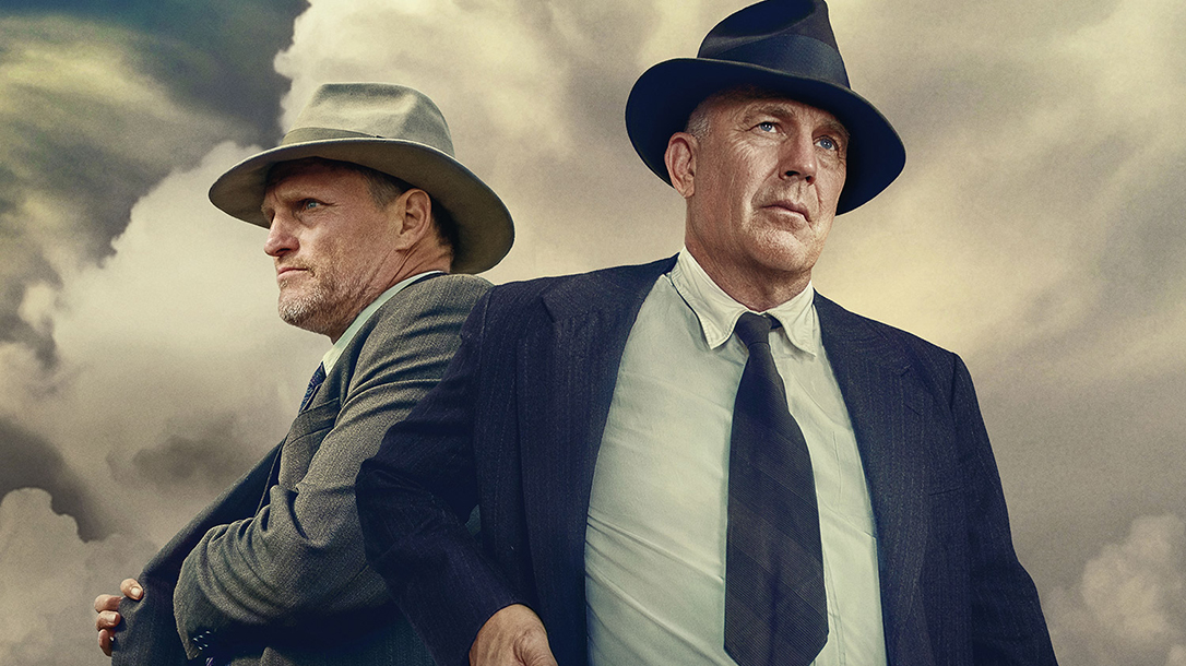 The Highwaymen is a story about Frank Hamer, starring Kevin Costner on Netflix.