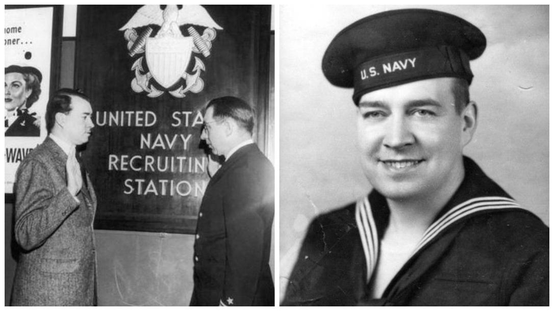 Willie Hitler Joins Navy