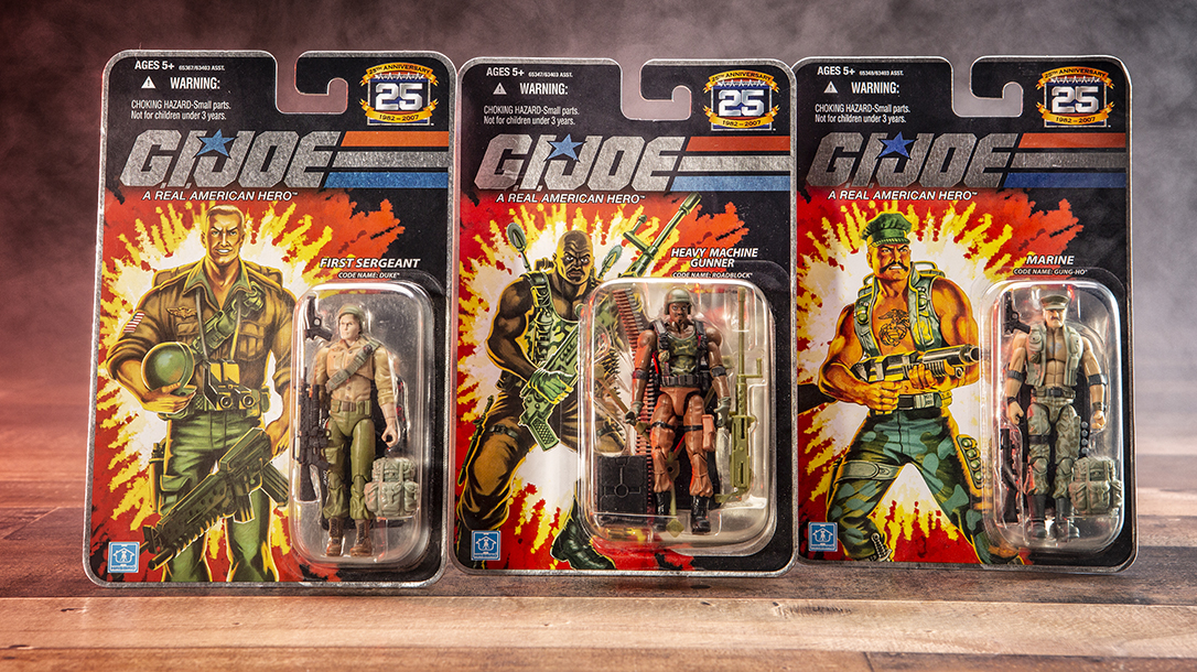 GI Joe toys, collectables are extremely popular!