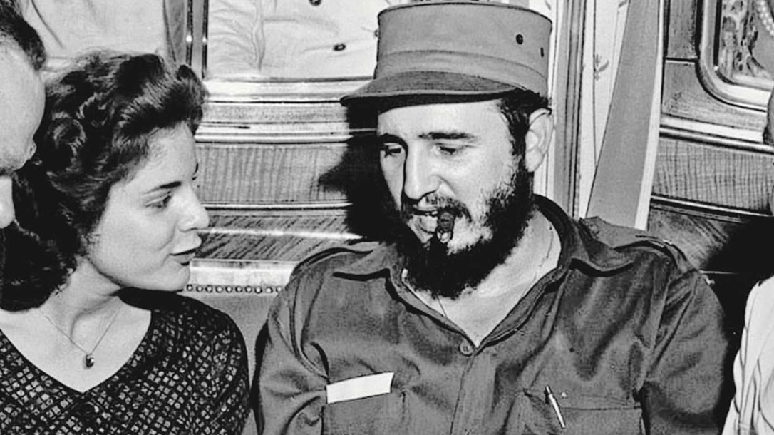 Marita seen here with Fidel Castro.