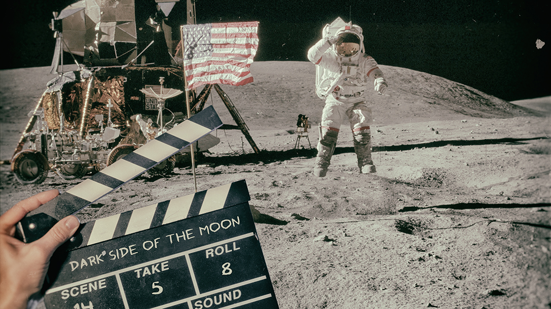 Was the moon landing faked? This is a common conspiracy theory!
