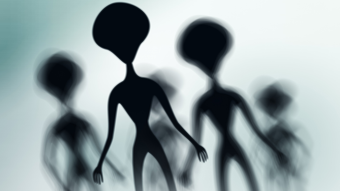 Did spooky aliens in a UFO crash land in New Mexico?