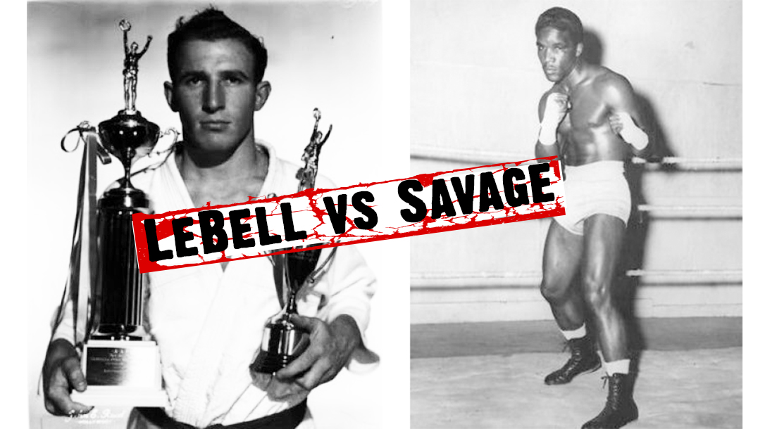 Boxer Milo Savage vs Judo Gene LeBell