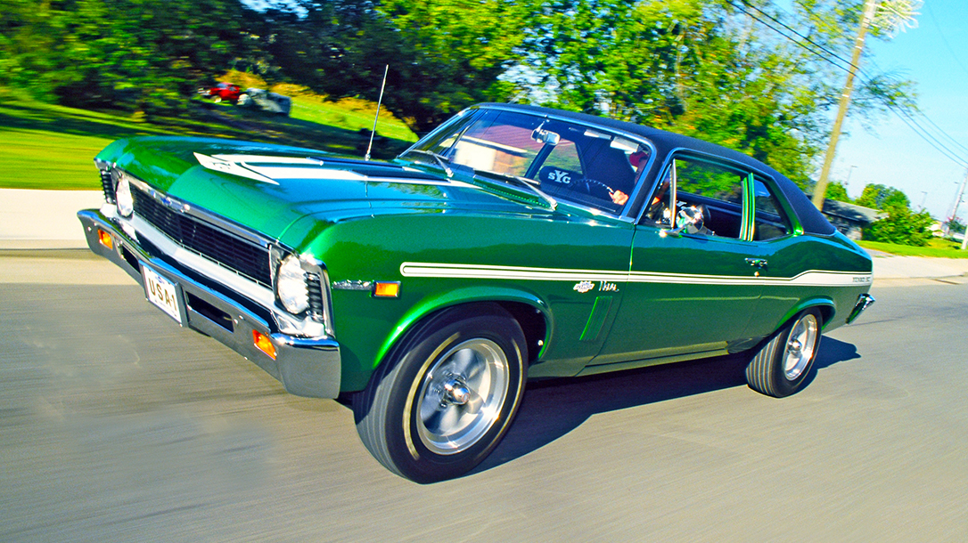 1969 Don Yenko Chevy Nova, muscle car, lead
