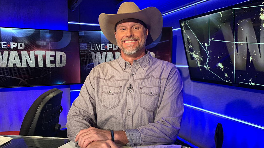 Sheriff Lamb on the set of Live PD.