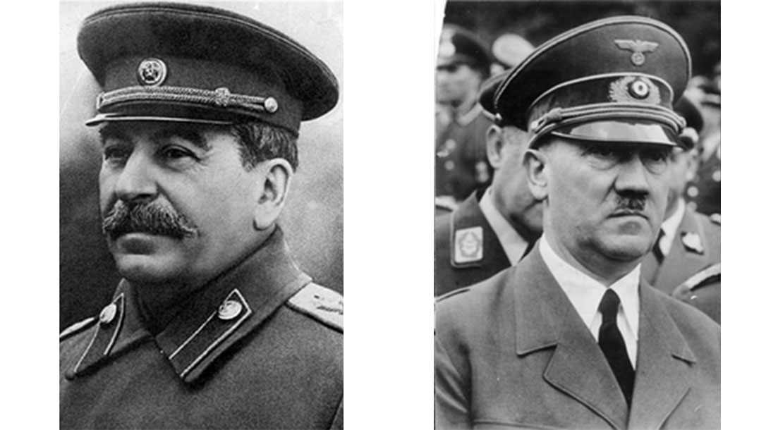 Stalin and Hitler were two of the world's worst dictators.