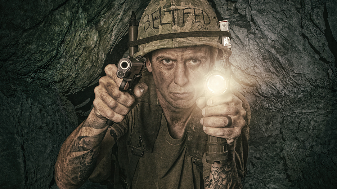 Tunnel rats of the Vietnam war had a scary mission!