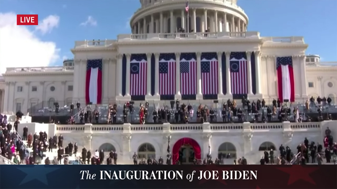 Betsy Ross Flag Joe Inauguration
