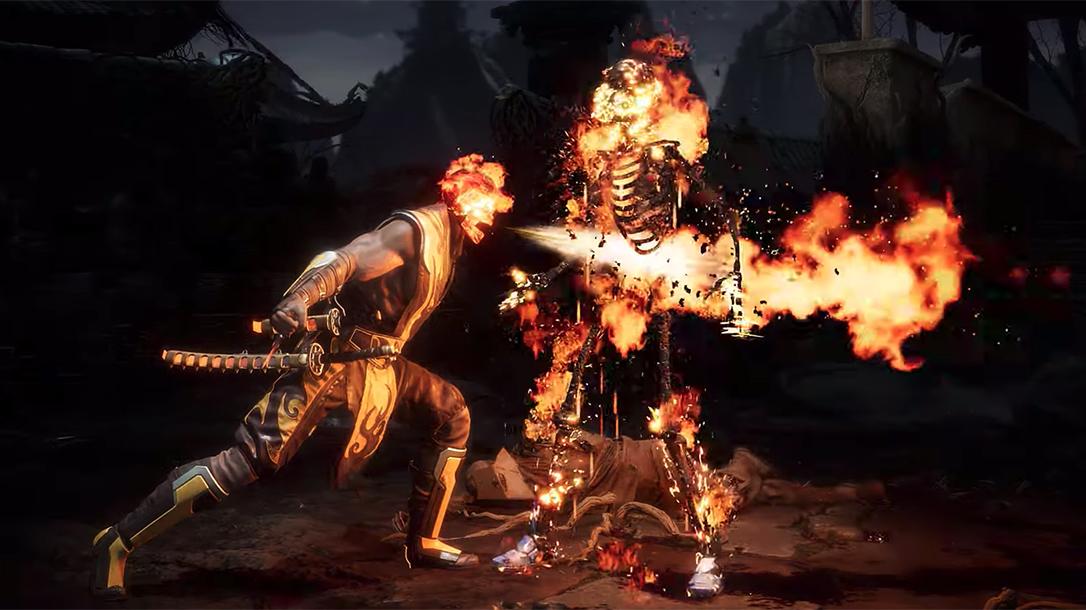 Mortal Kombat fatality, Scorpion