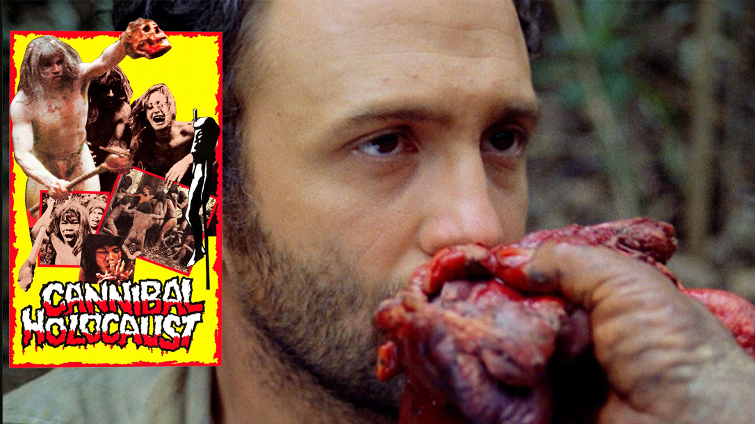 Cannibal Holocaust is a gruesome found footage horror movie!