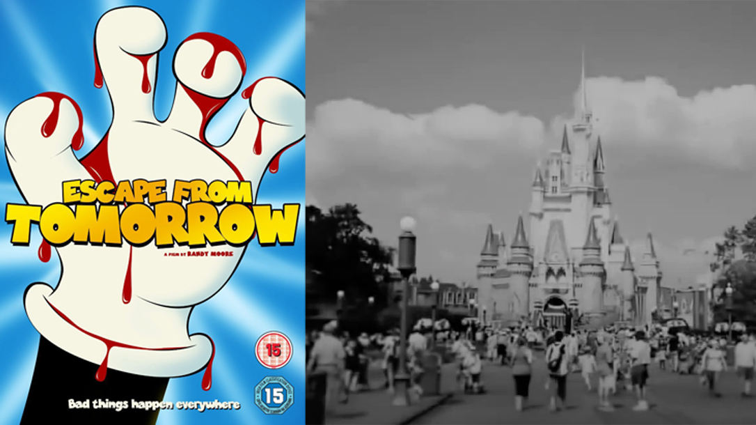 Escape From Tomorrow is a film that was secretly filmed at Disneyland.