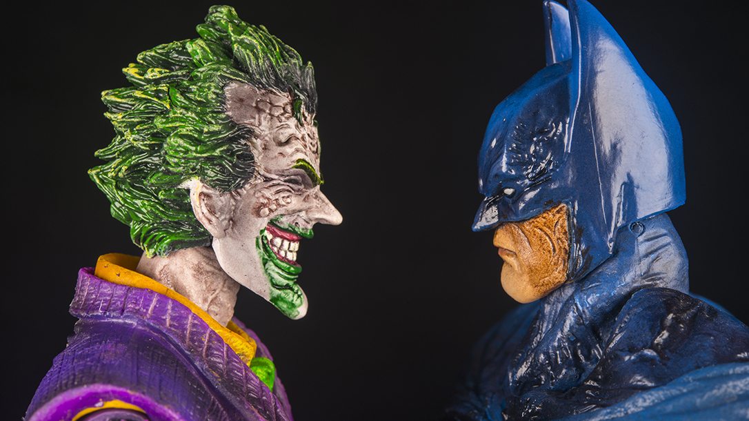 Comic Book Villains, Joker, Two of DC comics most iconic face-off!