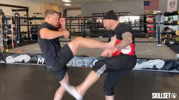 WATCH: How to Use a Push Kick to Fend off an Attacker