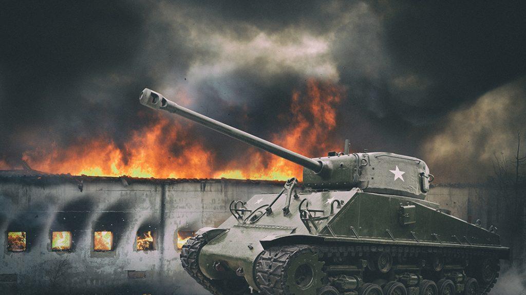761st Tank Battalion in WWll