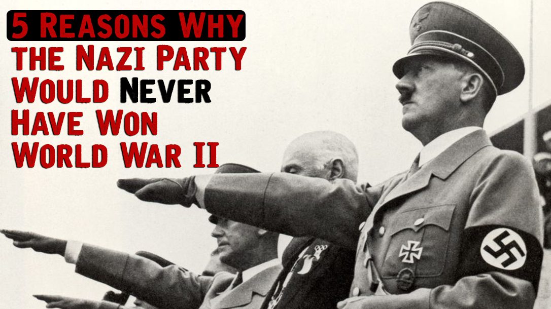 Hitler and the Nazi Party could never of won WWll.