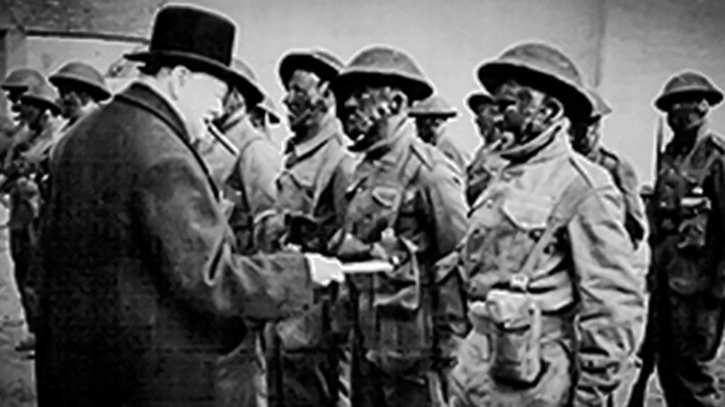 Winston Churchill, British Commandos, Korean War vet