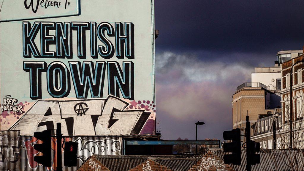 Kentish Town mural