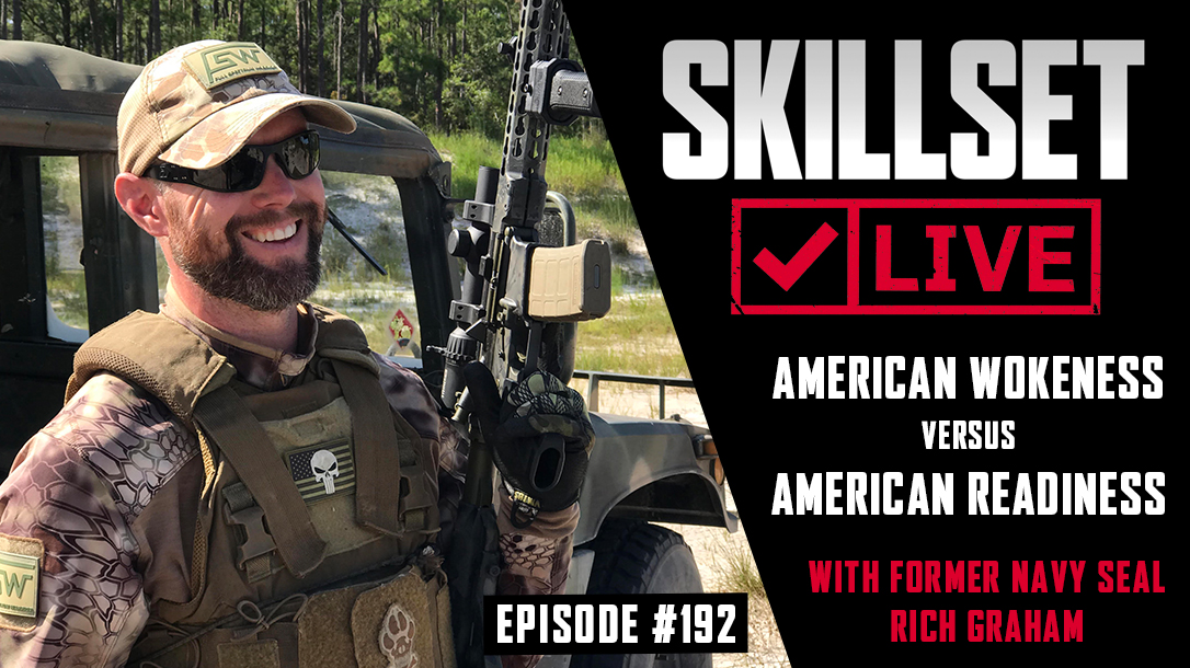 Skillset Live Episode 192 with Navy SEAL Rich Graham