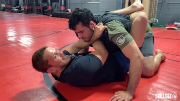 How the Cross Collar Choke Can Be Effective in a Fight
