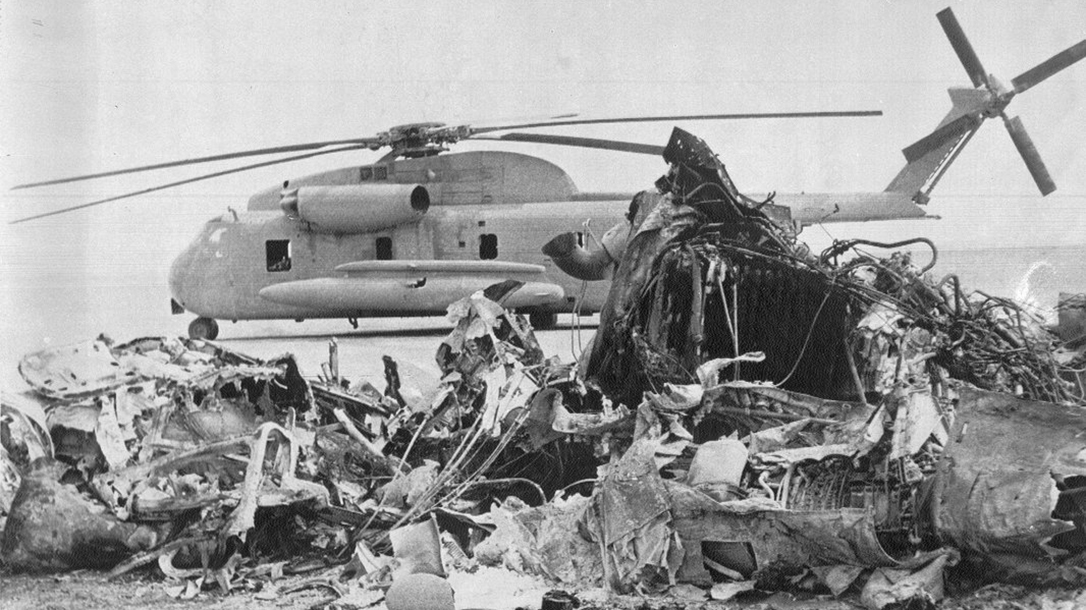 Operation Eagle Claw Wreckage