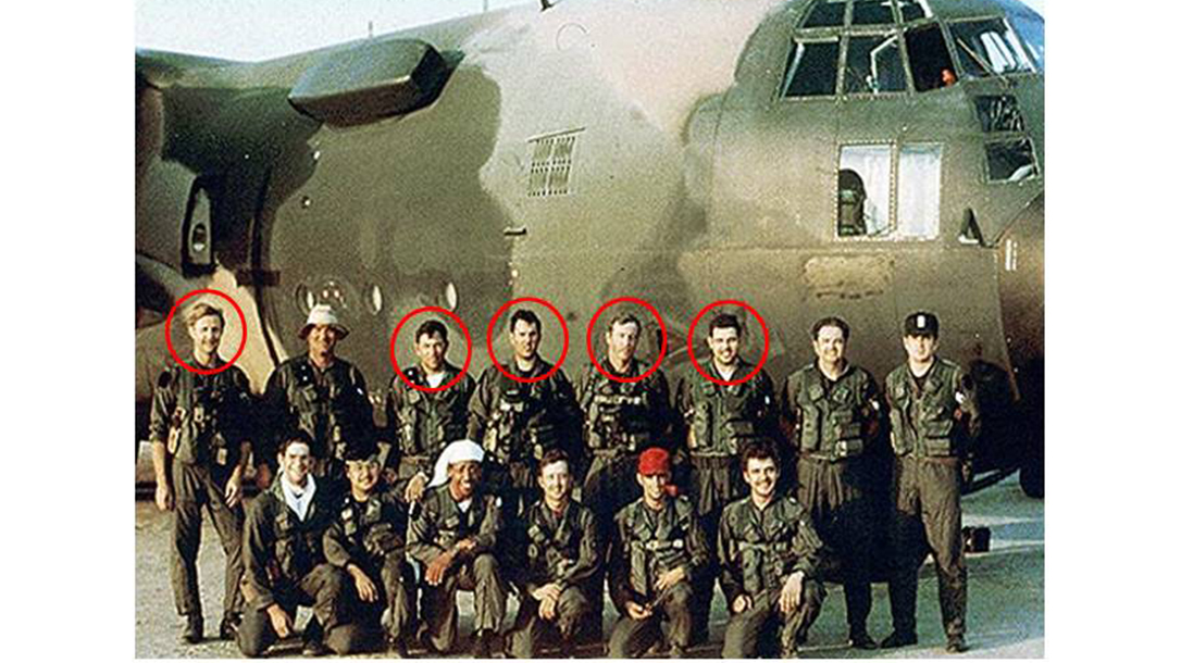 Members of Operation Eagle Claw