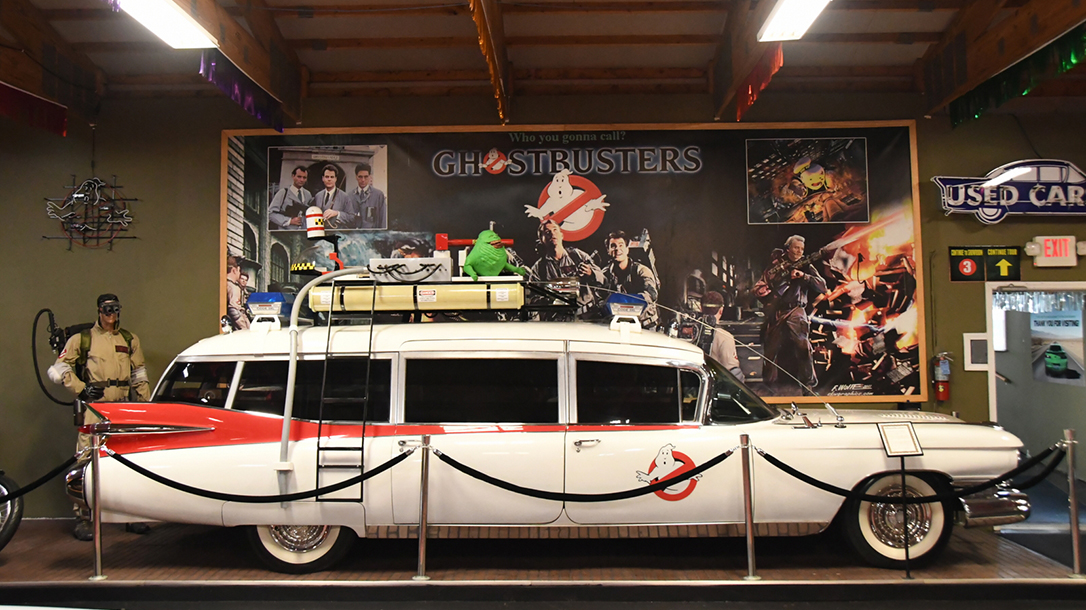 Ecto 1, The Ghostbuster Ride is who you're gonna call!