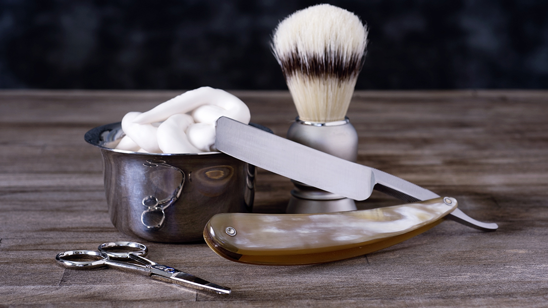 Everything that's old is new and cool, especially vintage straight razors.