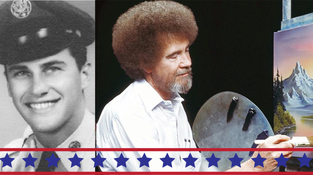 Bob Ross served in the United States Air Force!