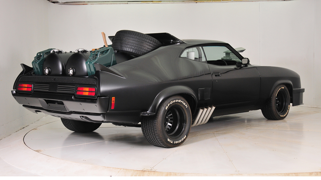 The Mad Max Interceptor roars back to life.