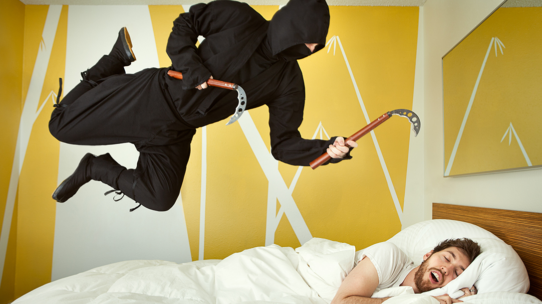 Who doesn't fantasize about being a ninja?