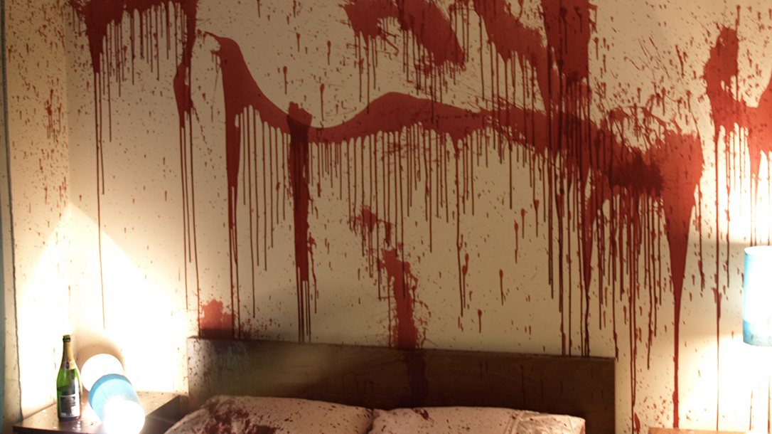 Crime scenes are usually places that aren't for the faint of heart.