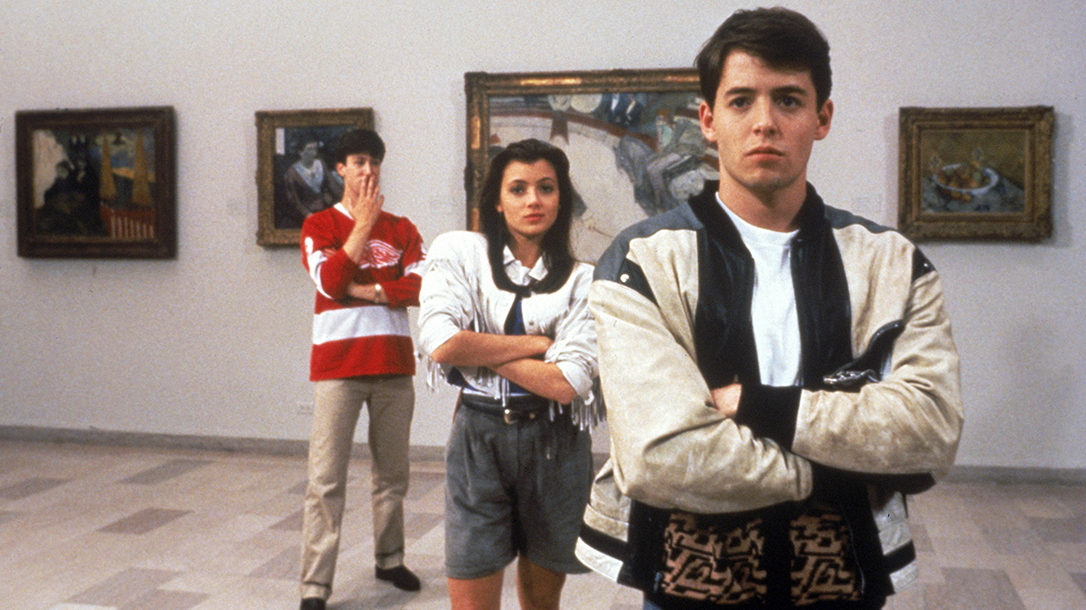 Nothing defines the '80s teem movie era more than Ferris Bueller's Day off.