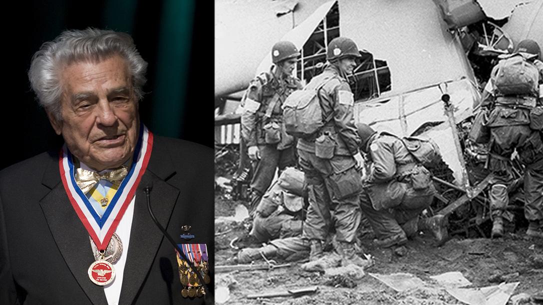 Medal of Honor recipient James 'Maggie Megellas'.
