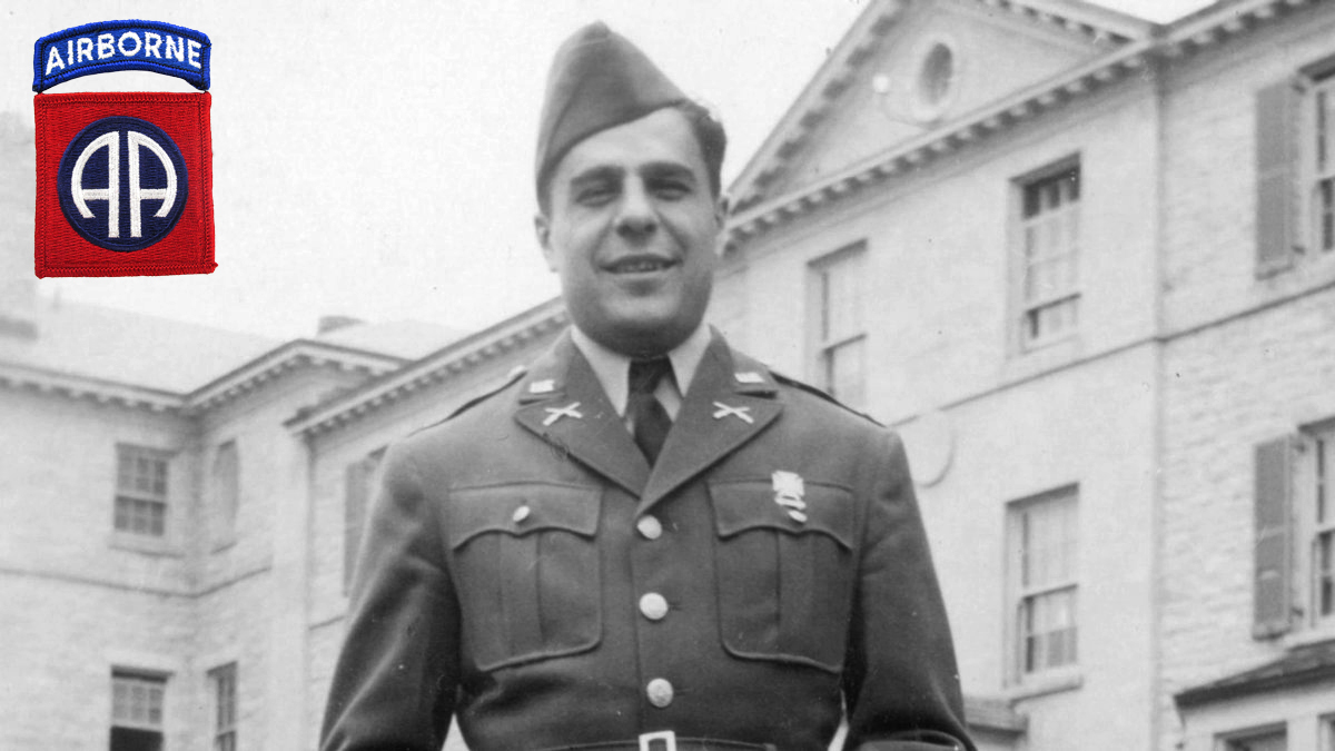 """Lt. Col. James """"Maggie"""" Megellas, the son of Greek immigrants and recipient of the Distinguished Service Cross, two Silver Stars, two Bronze Stars and two Purple Hearts."""