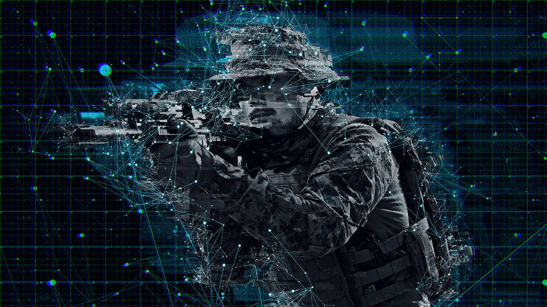The military uses lasers for weapon systems.