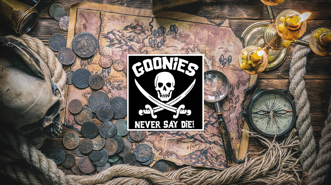 Real adventurers like the Goonies search for treasure!