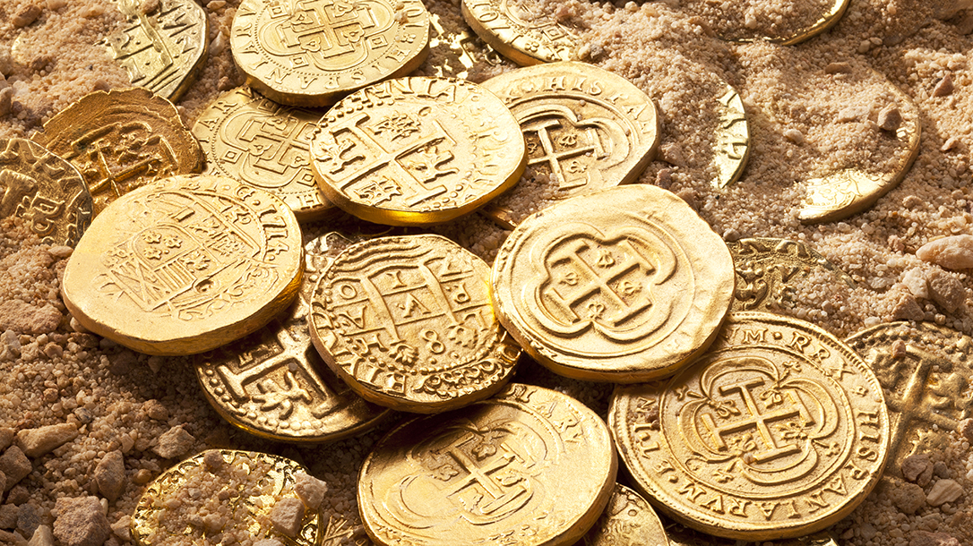 Gold doubloons and gold cobbs are just some of the treasure that can be found in the worlds oceans.