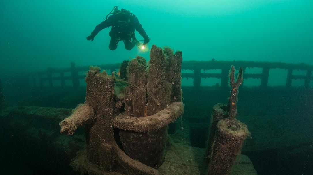 Scuba diving natures reefs is a surefire way to find sunken treasure.