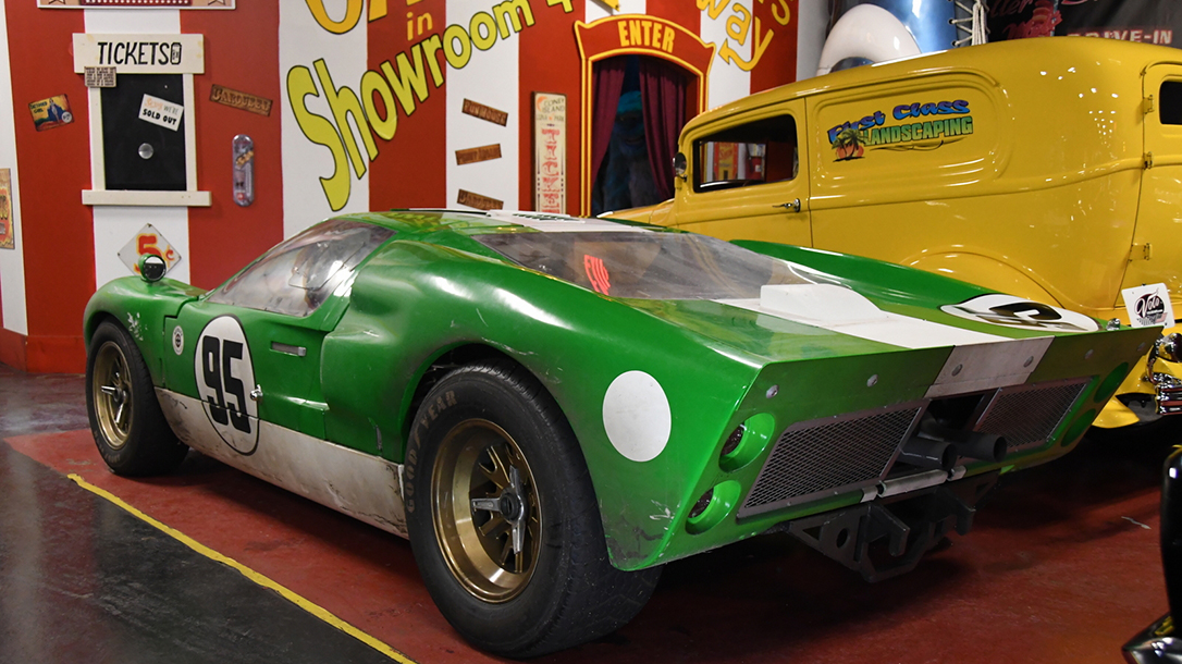 The Side of the Ford GT40 most recognizable to other LeMans drivers.
