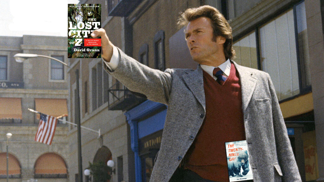 Tough guys like Dirty Harry would read these books!