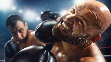 Boxing: Extremely powerful punch