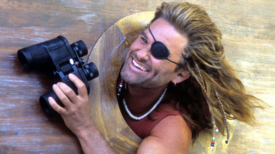 Kurt Russell has been in a lot of movies, and Captain Ron is awesome!