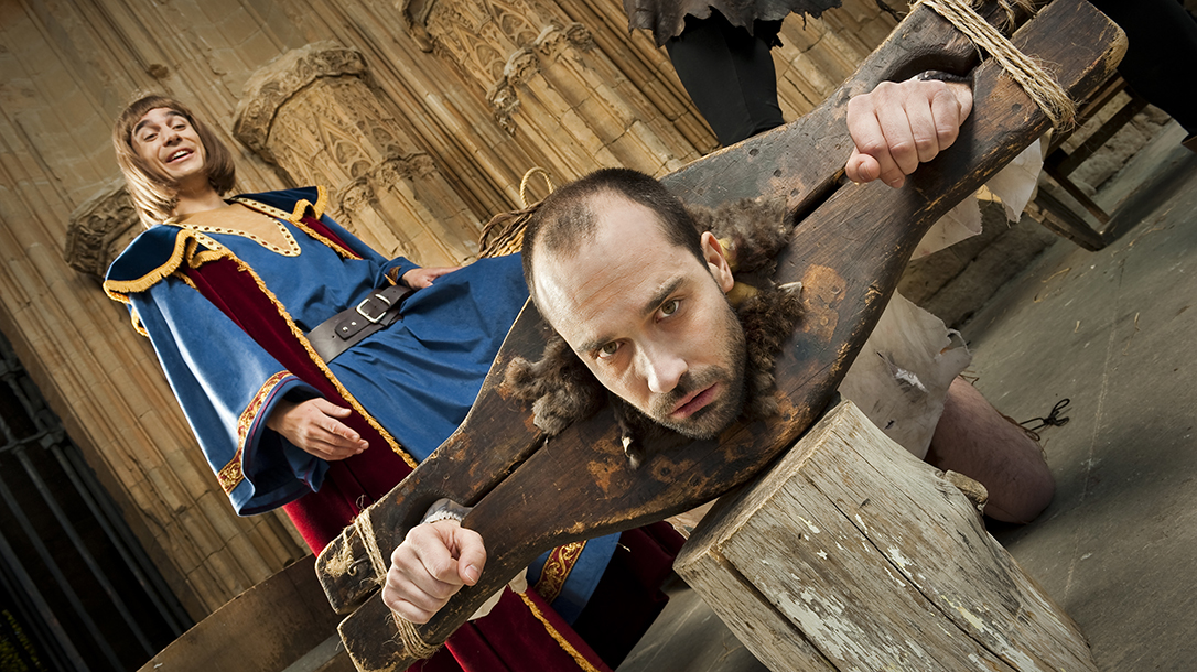 There were some pretty creative Medieval Torture devices during the dark ages!