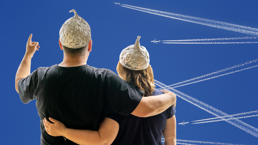 Are conspiracy theorists right about chemtrails?