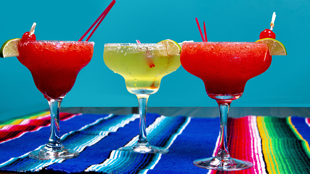 Cold tequila drinks on a hot summer day are definitely a requirement.